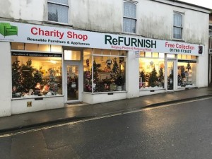 South Molton Christmas Window 1